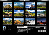 the alps between mountain and valley (Wall Calendar 2019 DIN A3 Landscape) - Produktdetailbild 13