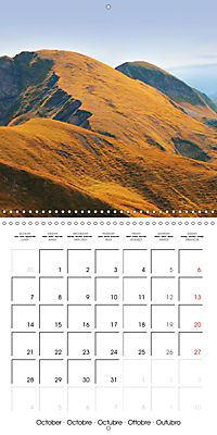 the alps - from valley to summit (Wall Calendar 2019 300 × 300 mm Square) - Produktdetailbild 10