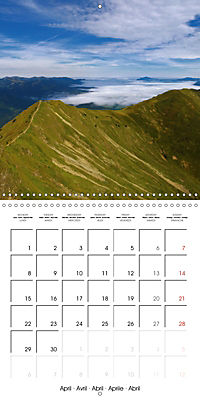 the alps - from valley to summit (Wall Calendar 2019 300 × 300 mm Square) - Produktdetailbild 4