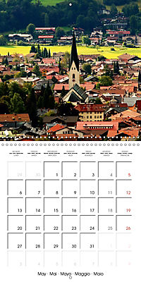 the alps - from valley to summit (Wall Calendar 2019 300 × 300 mm Square) - Produktdetailbild 5