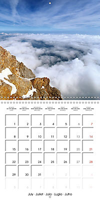 the alps - from valley to summit (Wall Calendar 2019 300 × 300 mm Square) - Produktdetailbild 7