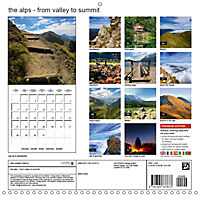the alps - from valley to summit (Wall Calendar 2019 300 × 300 mm Square) - Produktdetailbild 13