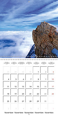 the alps - from valley to summit (Wall Calendar 2019 300 × 300 mm Square) - Produktdetailbild 11