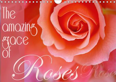 The amazing grace of Roses (Wall Calendar 2019 DIN A4 Landscape), Christine B-B Müller
