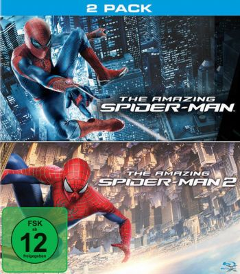 The Amazing Spider-Man 1 + 2 - 2 Disc Bluray