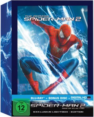 The Amazing Spider-Man 2 - Lightbox-Edition, (Buchvorlage: Steve Ditko, Stan Lee) Alex Kurtzman, Roberto Orci, Jeff Pinkner, James Vanderbilt