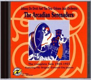 The Arcadian Serenaders-1924-1925, The Arcadian Serenaders, Johnny De Droit