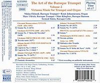 The Art Of The Baroque Trumpet Vol. 2 - Produktdetailbild 1