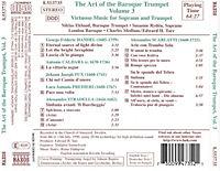 The Art Of The Baroque Trumpet Vol. 3 - Produktdetailbild 1