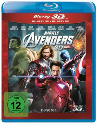 The Avengers - 3D-Edition
