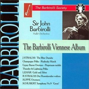 The Barbirolli Viennese Album, Barbirolli, Halle Orch.