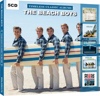 The Beach Boys, 5 CDs