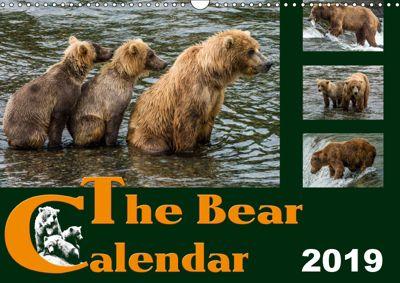 The Bear Calendar / UK-Version (Wall Calendar 2019 DIN A3 Landscape), Max Steinwald