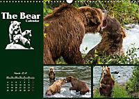 The Bear Calendar / UK-Version (Wall Calendar 2019 DIN A3 Landscape) - Produktdetailbild 3