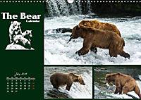 The Bear Calendar / UK-Version (Wall Calendar 2019 DIN A3 Landscape) - Produktdetailbild 7