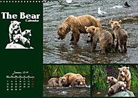 The Bear Calendar / UK-Version (Wall Calendar 2019 DIN A3 Landscape) - Produktdetailbild 1