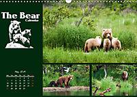 The Bear Calendar / UK-Version (Wall Calendar 2019 DIN A3 Landscape) - Produktdetailbild 5