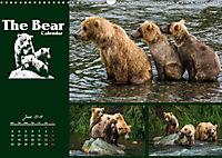 The Bear Calendar / UK-Version (Wall Calendar 2019 DIN A3 Landscape) - Produktdetailbild 6