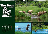 The Bear Calendar / UK-Version (Wall Calendar 2019 DIN A3 Landscape) - Produktdetailbild 10
