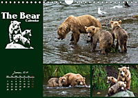 The Bear Calendar / UK-Version (Wall Calendar 2019 DIN A4 Landscape) - Produktdetailbild 1