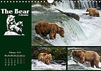 The Bear Calendar / UK-Version (Wall Calendar 2019 DIN A4 Landscape) - Produktdetailbild 2
