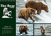 The Bear Calendar / UK-Version (Wall Calendar 2019 DIN A4 Landscape) - Produktdetailbild 9