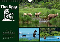 The Bear Calendar / UK-Version (Wall Calendar 2019 DIN A4 Landscape) - Produktdetailbild 10