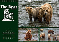 The Bear Calendar / UK-Version (Wall Calendar 2019 DIN A4 Landscape) - Produktdetailbild 8