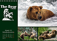 The Bear Calendar / UK-Version (Wall Calendar 2019 DIN A4 Landscape) - Produktdetailbild 12