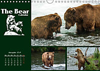 The Bear Calendar / UK-Version (Wall Calendar 2019 DIN A4 Landscape) - Produktdetailbild 11