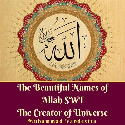 The Beautiful Names of Allah SWT The Creator of Universe, Muhammad Vandestra