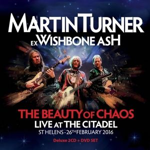 The Beauty Of Chaos-Live (2cd+1dvd Edition), Martin Turner