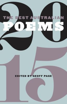 The Best Australian Poems 2015