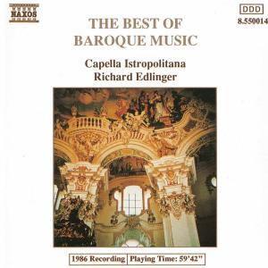 The Best Of Baroque Music, Diverse Interpreten