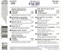 The Best Of Faure - Produktdetailbild 1