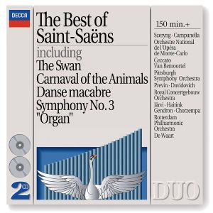 The Best of Saint-Saëns, Diverse Interpreten