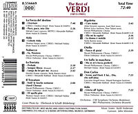 The Best Of Verdi - Produktdetailbild 1
