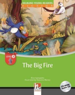 The Big Fire, mit 1 CD-ROM/Audio-CD, m. 1 CD-ROM, 2 Teile, Rick Sampedro