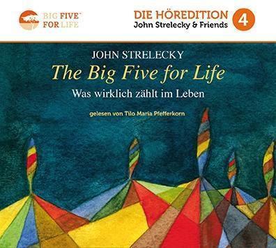 The Big Five for Life, 1 MP3-CD, John P. Strelecky
