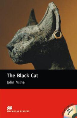 The Black Cat, w. Audio-CD, John Milne