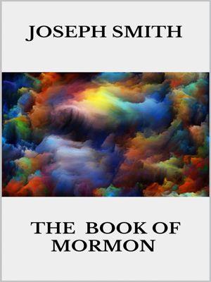 The book of Mormon, Joseph Smith