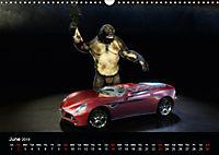 The Cavetroll and the cars (Wall Calendar 2019 DIN A3 Landscape) - Produktdetailbild 6