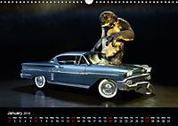 The Cavetroll and the cars (Wall Calendar 2019 DIN A3 Landscape) - Produktdetailbild 1