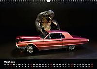 The Cavetroll and the cars (Wall Calendar 2019 DIN A3 Landscape) - Produktdetailbild 3