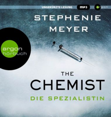 The Chemist - Die Spezialistin, 2 MP3-CD, Stephenie Meyer