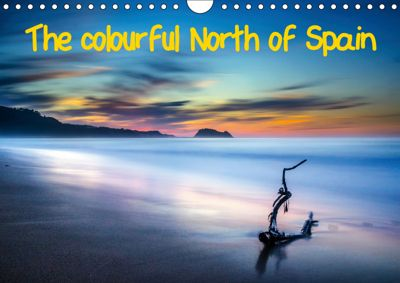 The colourful North of Spain (Wall Calendar 2019 DIN A4 Landscape), (c) 2015 by Atlantismedia