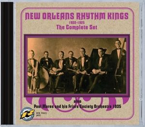 The Complete Set 1922-1925, New Orleans Rhythm Kings