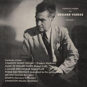The Complete Works Of Edgard Varèse Vol.1 (3cd), Edgard Varèse