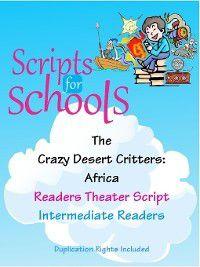 The Crazy Desert Critters, Lois Walker