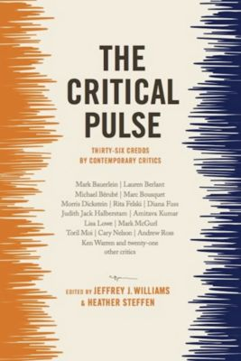 The Critical Pulse, Jeffrey Williams